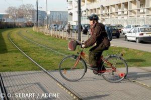 Un cycliste