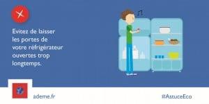 ADEME-PB4 refrigerateur ouvert