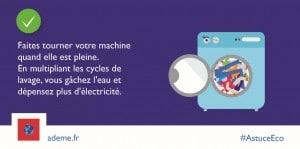 ADEME-PB6 machine a laver pleine
