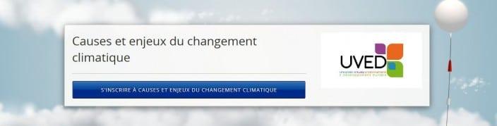 MOOC Changement climatique