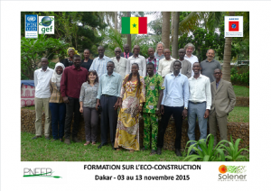 Photo de groupe Dakar EcoConstruction