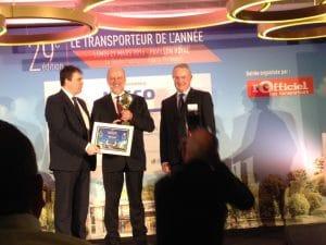 © ADEME « nous sommes fiers d'accompagner les transporteurs dans la transition énergétique » Bruno Lechevin