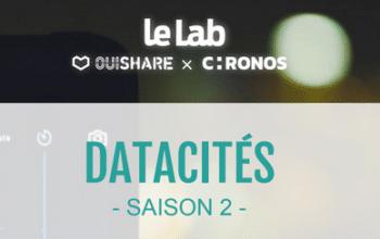 #Data services urbains – 4 collectivités lauréates de DataCités2